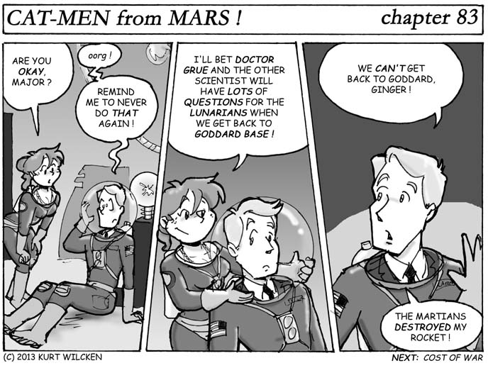 CAT-MEN from MARS:  Chapter 83 — No Way Out ?