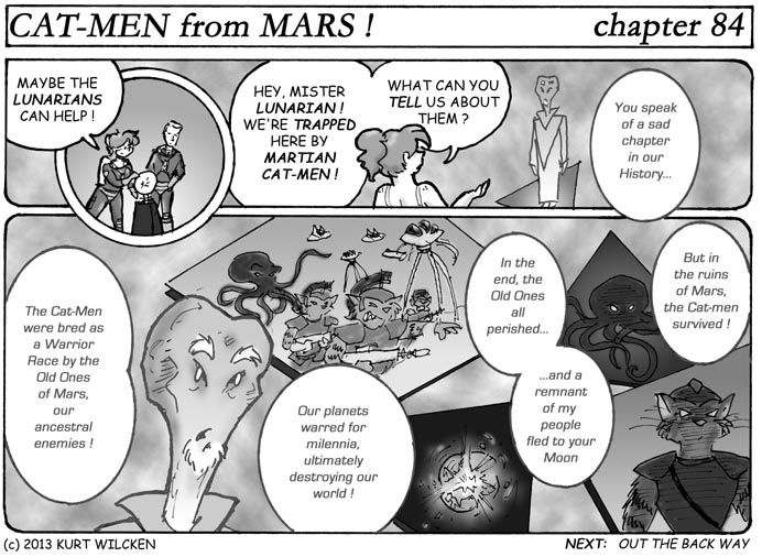 CAT-MEN from MARS:  Chapter 84 — Cost of War