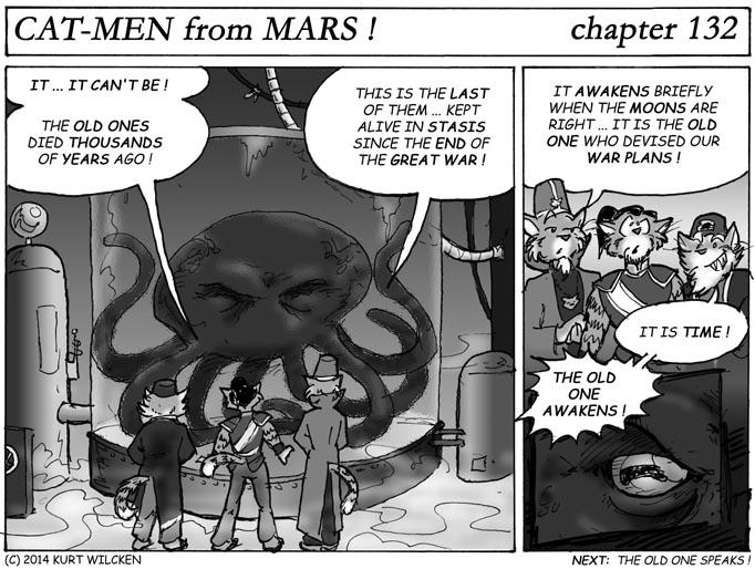 CAT-MEN from MARS:  Chapter 132 — Tanks For The Memories