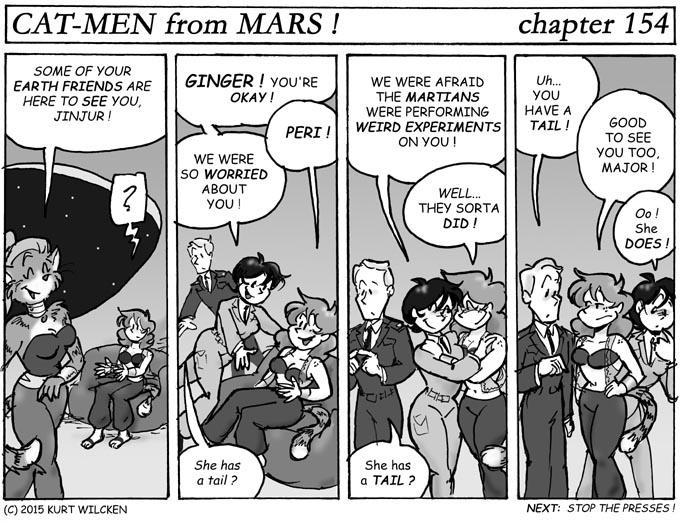 CAT-MEN from MARS:  Chapter 154 — Reunion