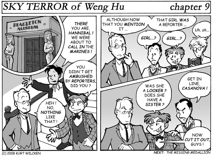 SKY TERROR of Weng Hu:  Chapter 9 — No, She Doesn't