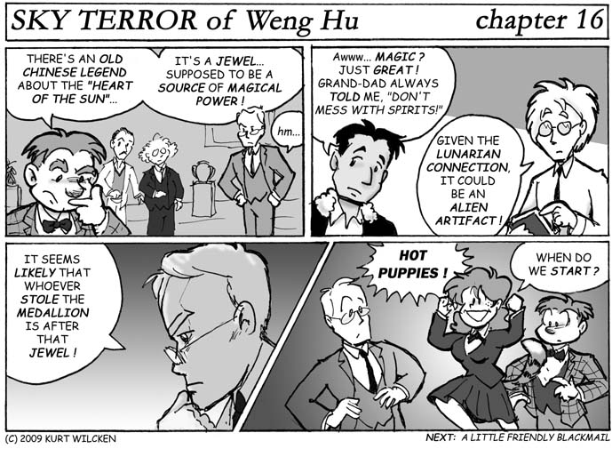 SKY TERROR of Weng Hu:  Chapter 16 — The Heart of the Sun