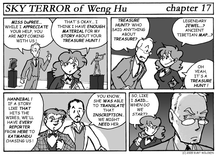 SKY TERROR of Weng Hu:  Chapter 17 — A Little Friendly Blackmail