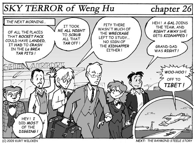 SKY TERROR of Weng Hu:  Chapter 26 — Grand-Dad Was Right