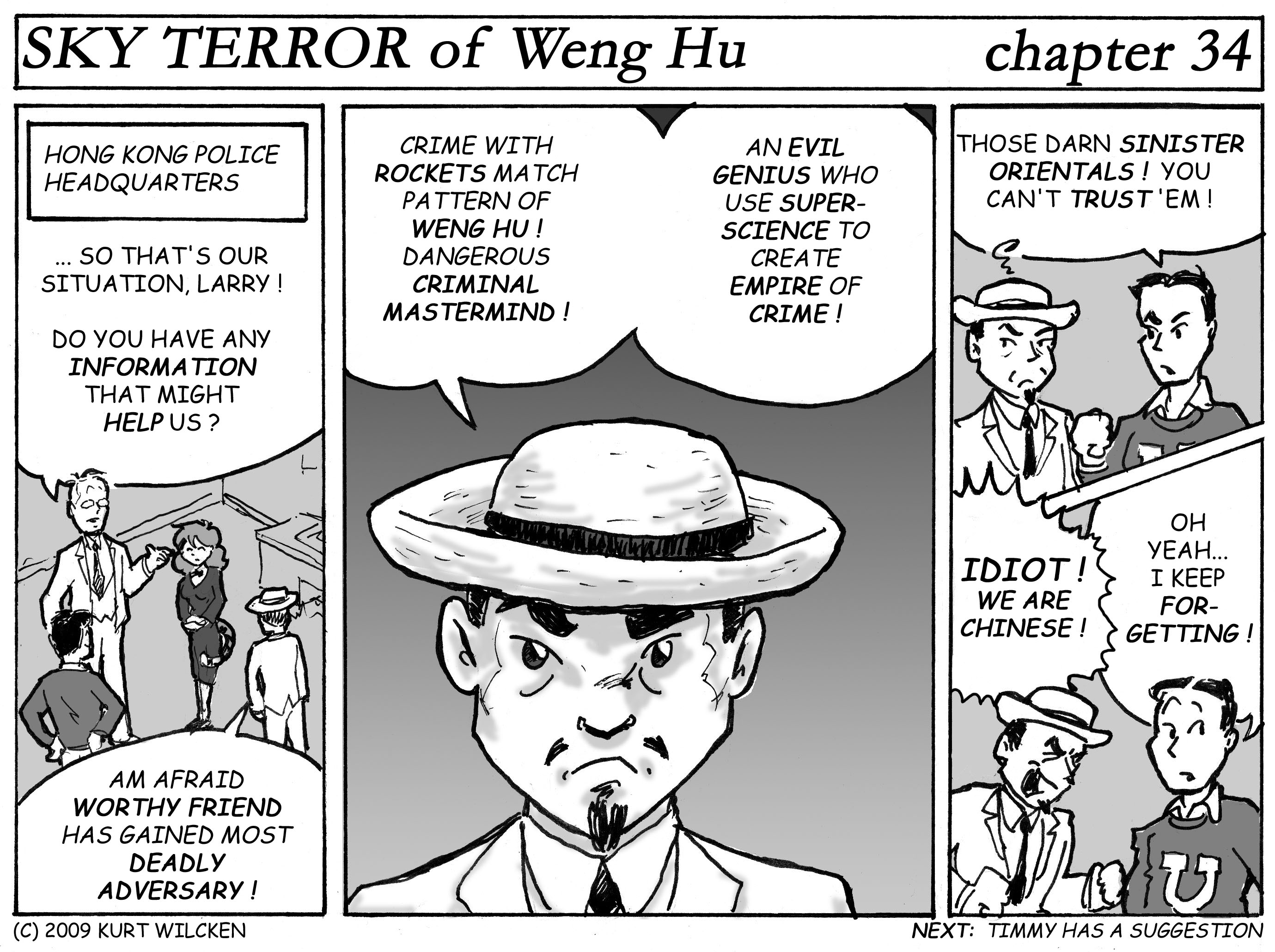SKY TERROR of Weng Hu:  Chapter 34 — A Deadly Adversary