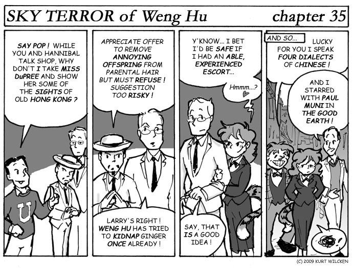 SKY TERROR of Weng Hu:  Chapter 35 — Timmy Has a Suggestion