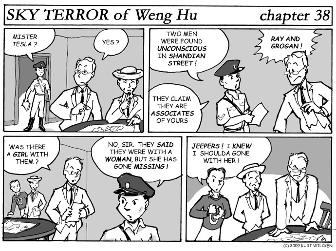 SKY TERROR of Weng Hu:  Chapter 38 — Bad Tidings