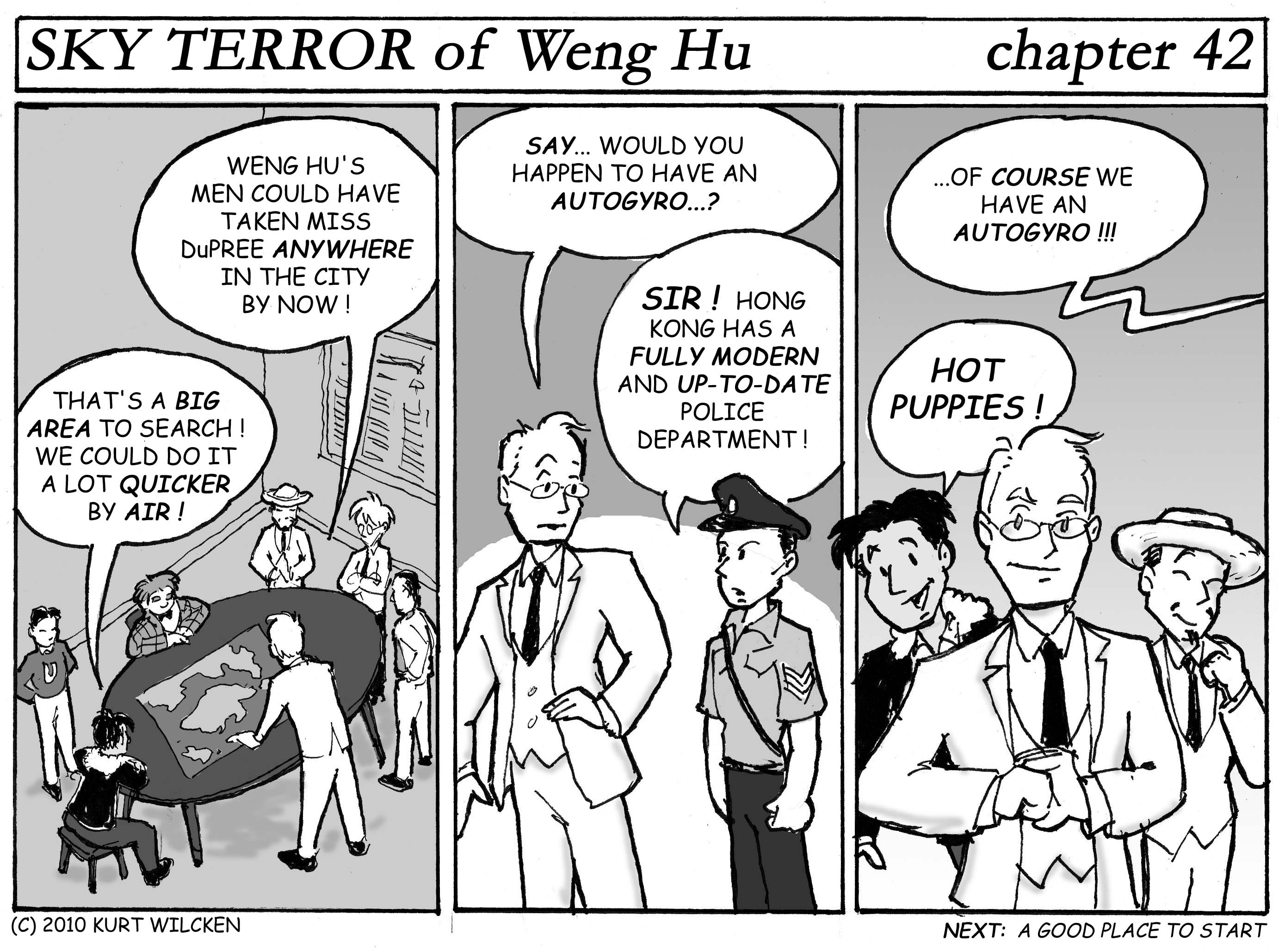 SKY TERROR of Weng Hu:  Chapter 42 — Doesn't Everybody?