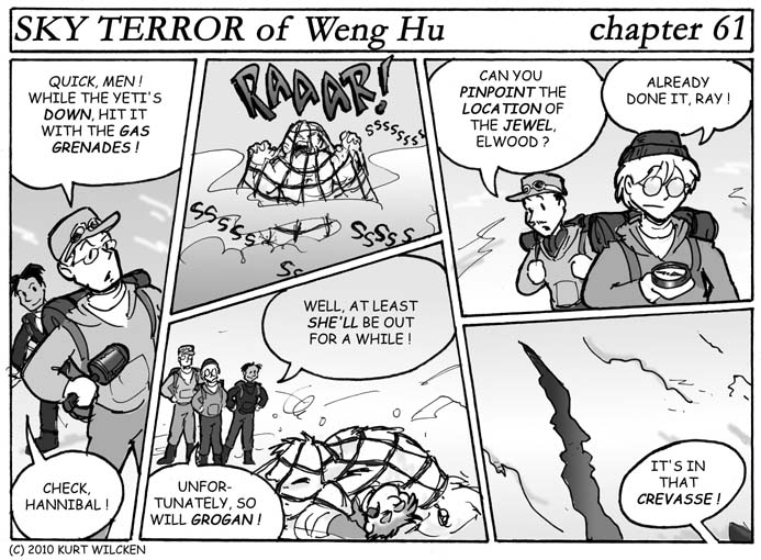 SKY TERROR of Weng Hu:  Chapter 61 — Down for the Count