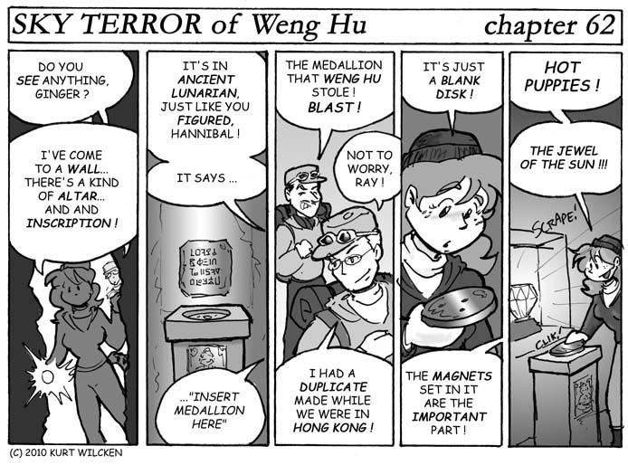 SKY TERROR of Weng Hu:  Chapter 62 — Jackpot !