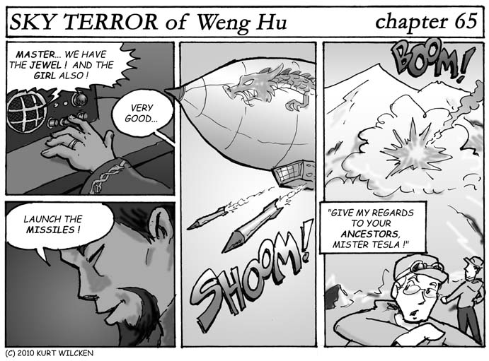 SKY TERROR of Weng Hu:  Chapter 65 — Death from Above