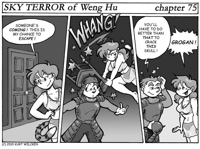 SKY TERROR of Weng Hu:  Chapter 75 — Concussive Reunion