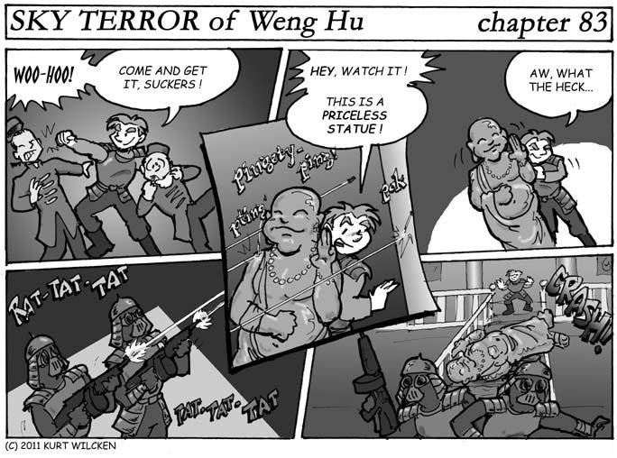 SKY TERROR of Weng Hu:  Chapter 83 — Buddhist Sanctuary