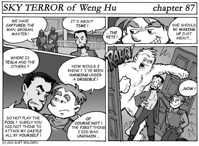 SKY TERROR of Weng Hu:  Chapter 87 — Grogan's Ally