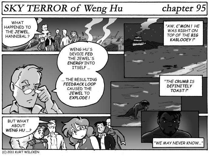 SKY TERROR of Weng Hu:  Chapter 95 — Post-Mortem