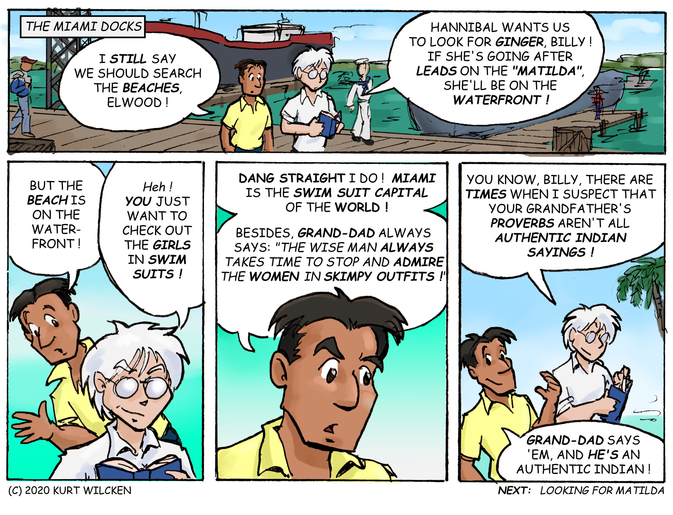DANGER CAY:  Chapter 64 — Sage Advice